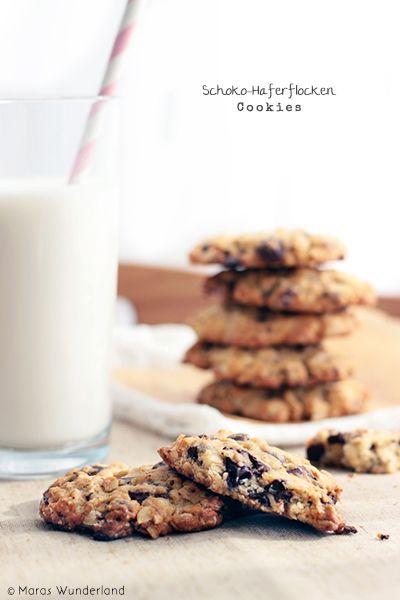 schoko haferflocken cookies haferflocken hafer kekse und kekse. Black Bedroom Furniture Sets. Home Design Ideas