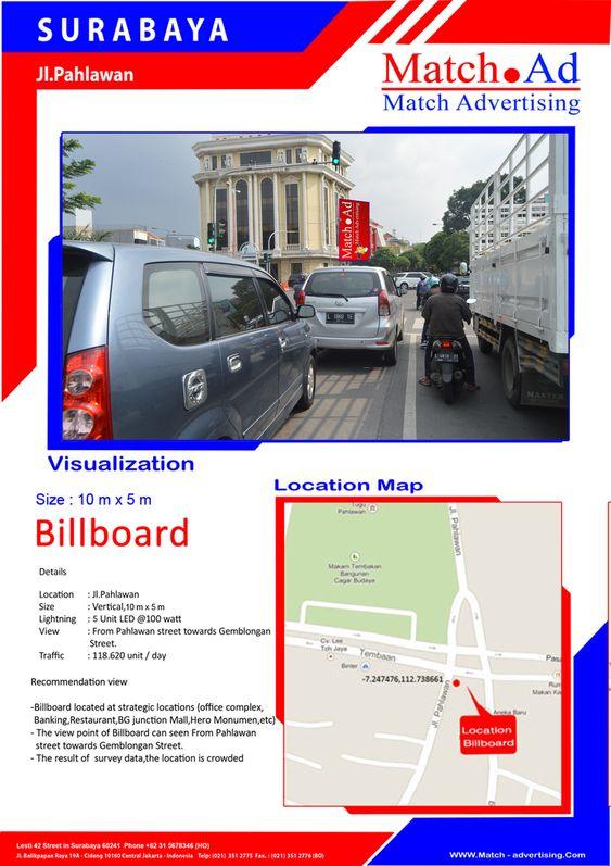 Surabaya Utara, Jl. Pahlawan - Billboard 10x5