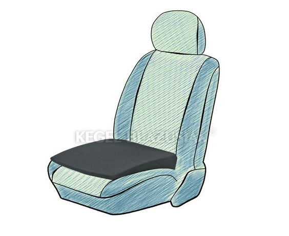 1x DELUXE ADULT SUPPORT CUSHION SEAT WEDGE BOOSTER HEIGHT FOAM CAR OFFICE VAN in Vehicle Parts & Accessories, Car Accessories, Interior   eBay