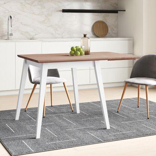 Finnegan Extendable Dining Table Hykkon Colour Oak White