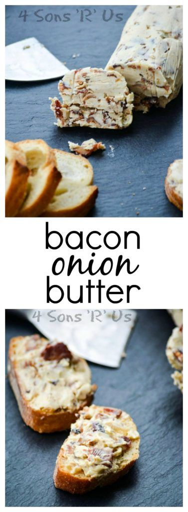 Compound butters build on everything we love about butter. That rich and creamy base has been given a savory upgrade. This Bacon Onion Butter has taken rich smooth butter and fortified it with crisp bacon crumbles, caramelized onions, and a savory hint of Worcestershire sauce.: