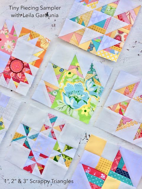 Welcome To The Tiny Piecing Sampler Quilt Along Leila Gardunia Mini Quilt Patterns Foundation Paper Piecing Patterns Paper Pieced Quilt Patterns