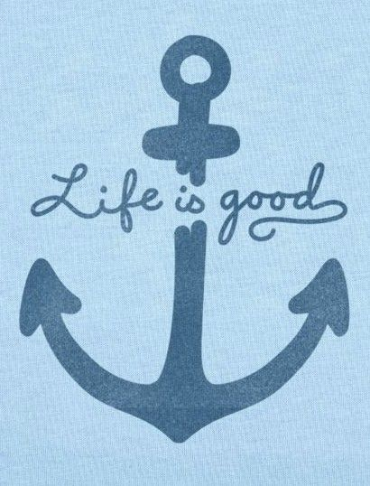 Life is Good: Women's Anchor Design