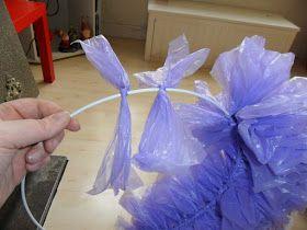 Hester's Creaties: PLASTIC ZAK KRANSEN.