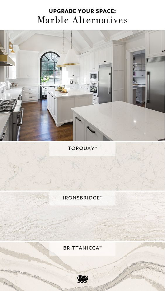 Get The Look Of Marble For Less Cambria Quartz Offers An