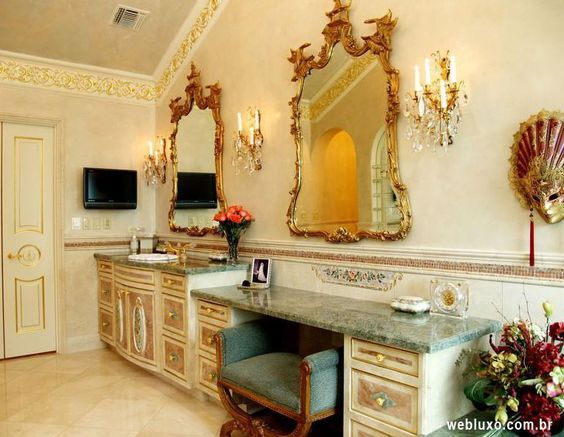 Bathroom of the Mansion Austin, Texas (USA) webluxo.com.br