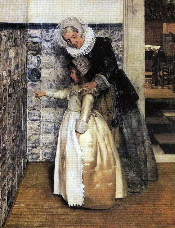 Bible Lesson_Alady Tadema