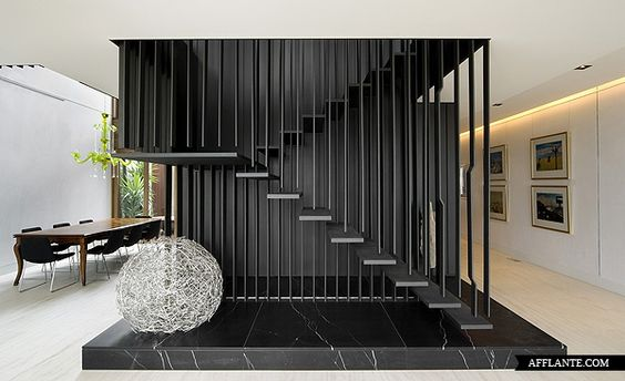 Middlepark House - buro architects: Architects Middle, Middlepark House, Chamberlain Javens, Buro Architect, Architecture Interiors, Dream Home, Staircase, Modern House, Javens Architects