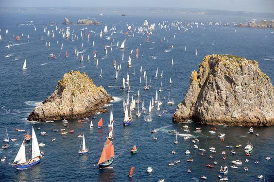 Les Tonnerres de Brest sailing festival