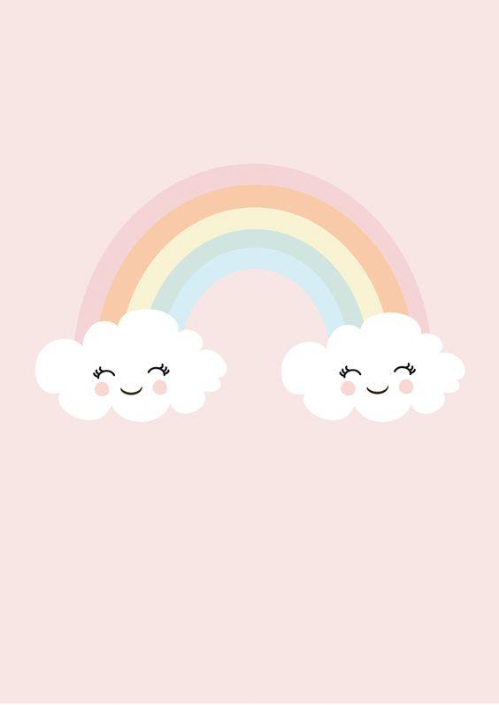 Print Happy Rainbow