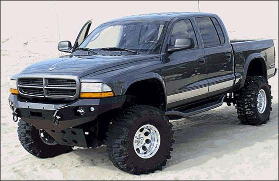 1997-2004 Dodge Dakota/Durango Stealth Winch Bumper