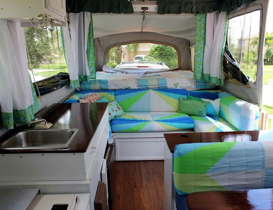Pop Up Paint Booth >> Tent campers, Campers and Camper interior on Pinterest