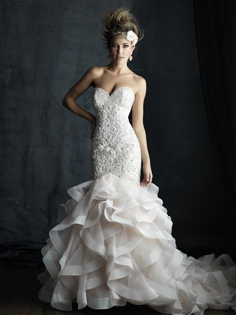 Allure Couture C389. Available @ Low's Bridal.