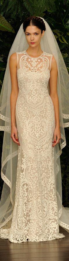 Naeem khan fall winter 2014 wedding dresses beautiful for Naeem khan wedding dress