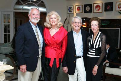 Larry Butcher, Faith Morford, Clark and Pat Bennett