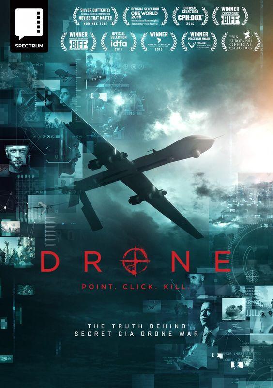 "Drone - Tonje Hessen Schei 2014 -- ""About the covert CIA drone war. Through…"