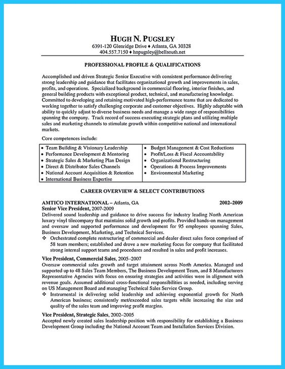 Small Business Owner Resume sample resume former small business owner When You Build Your Business Owner Resume You Should Include The Overview Of Entrepreneurial Experience