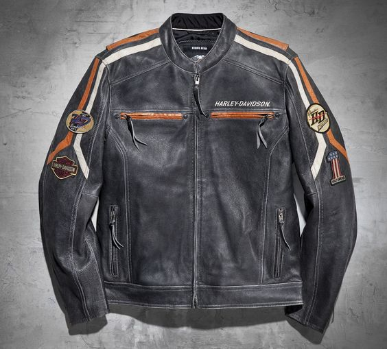 Men's Boulevard Leather Jacket | Leather | Official Harley ...
