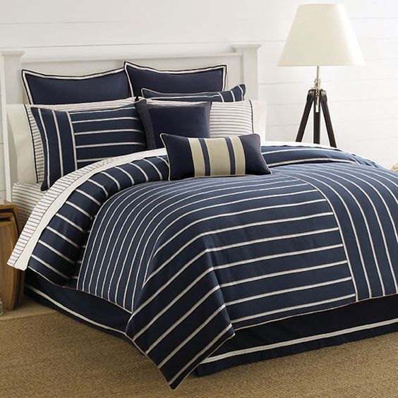 nautica ocean ridge bedding by nautica bedding comforters comforter sets duvets bedspread quilts sheets pillows the home decorating