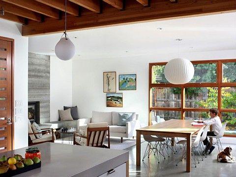 California Contemporary Living Room By Rozalynn Woods Interior Design
