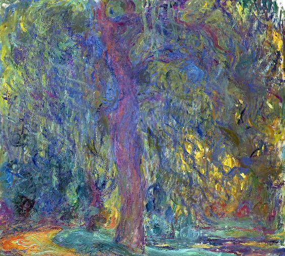 Claude Monet - Weeping Willow: