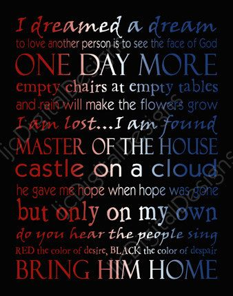 Printable+Les+Miserables+Musical+Digital+by+ljcDigitalDesigns,+$5.00