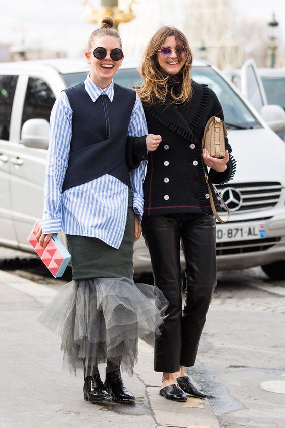 fwah2016 calle se ve Semana de la Moda de París automne hiver 2016 2017 77: