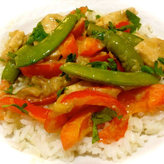 Thai Green Curry with Chicken #Recipe