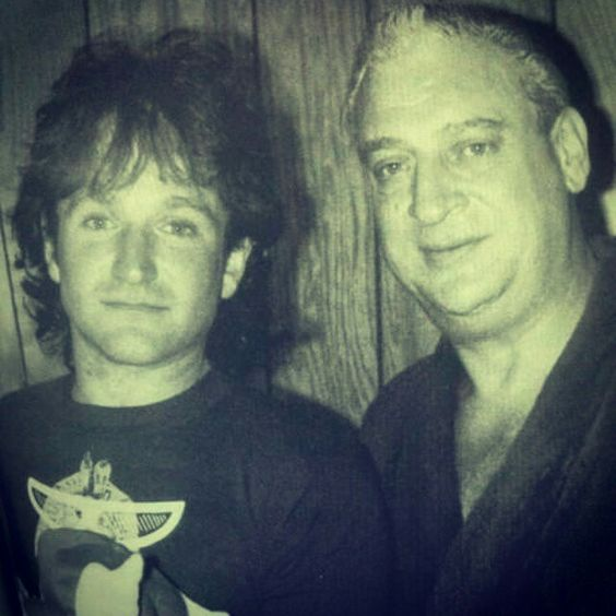 Rodney Dangerfield and Robin Williams, ca. 1980