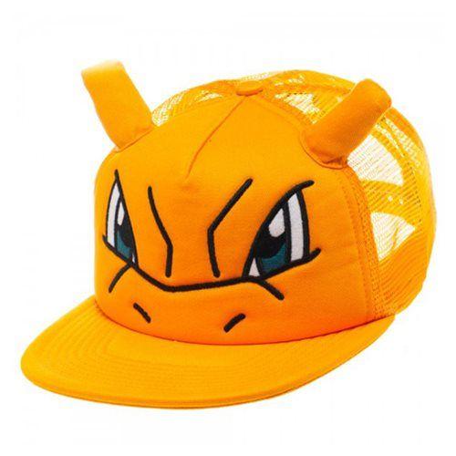 3061490c772 (affiliate link) Pokemon Charizard Big Face Trucker Hat