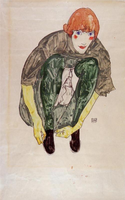 Crouching Figure (Valerie Neuzil), 1913