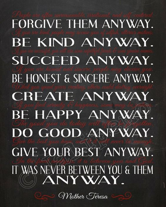 mother teresa do it anyway quote instant download printable religious typography christian wall art home office decor artistic home office track
