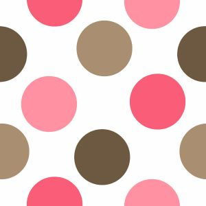 Pink and Brown Polka Dot Pattern | p a t t e r n s II ...