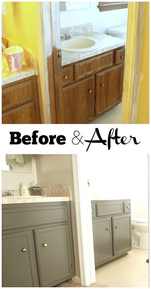 painting bathroom cabinets without sanding lazy s guide to painting cabinets furniture 23933