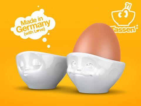 Neu - Die lustigen Eierbecher , Für das Eier mit Gefühl!