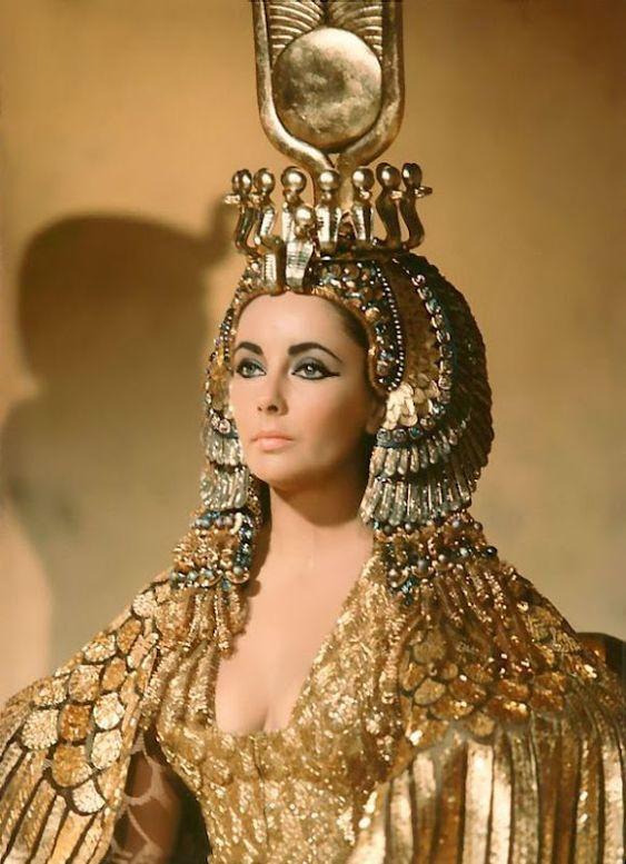 Cleopatra- 1963. Vittorio Nino Novarese and Renie Costume Designers.: