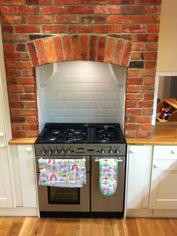 installing cooker in chimney breast - Google Search