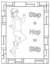 tap dance coloring pages - taps tap dance and coloring sheets on pinterest