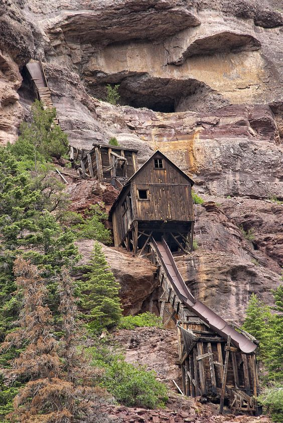 San Juan Mountains, Colorado | Abandoned Mine Photograph by Melany Sarafis