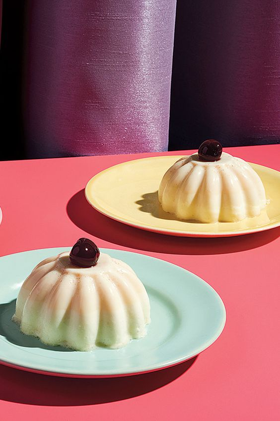 """A good blancmange will have a slight wobble but not be so firm that it feels (as Amanda Hesser once wrote) like """"eating a rubber ball."""" (Photo: Davide Luciano for The New York Times)"""