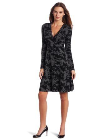 Karen Kane Women's Wrap Sweater Dress -  I have one similar by a danish desinger OXMO #designer #dress