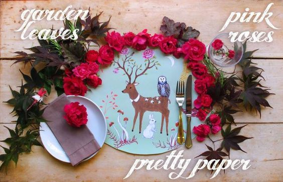 Jenni's Table} Six Ways to Lay A Table: Playing & Styling with Paper.
