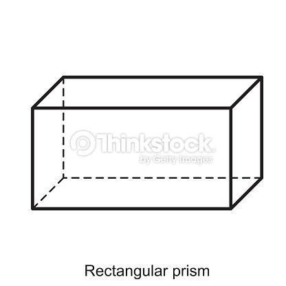 Rectangular Prism Vector Prismas Rectangulares Vector Materiales Didacticos