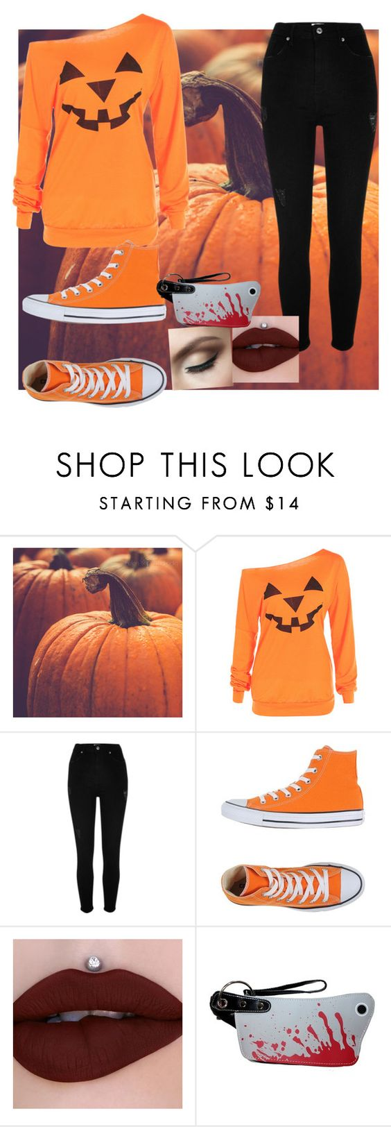 """Untitled #294"" by slytherin427 ❤ liked on Polyvore featuring River Island and Converse"
