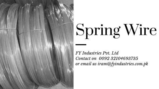 Spring Wire Is Used For Wide Range Of Applications Such As Hoses Conductor Cables Springs Fasteners Clips Staples Steel Manufacturers Spring Steel Steel