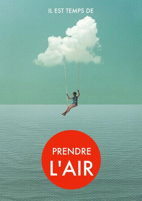 Prendre l'air #phoster by lespetitesrobesnoires.com