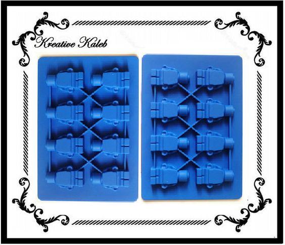 2 Minifigur Lego Blöcke Silikon Schimmel Fach von KreativeKaleb