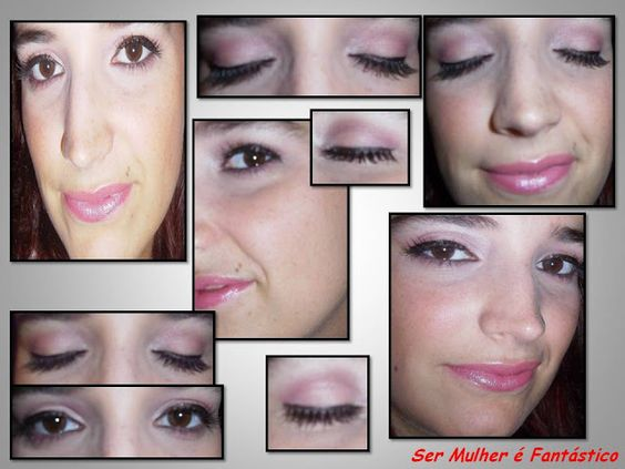 """Make Rose + false eyelashes -> month of October Breast Cancer"" by carla ribeiro"