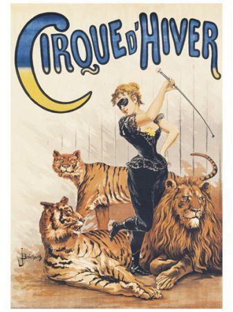 Affiches anciennes le cirque