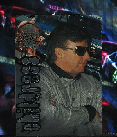 http://nascarniche.blogspot.com/  Richard Childress Team Owner 1996 Wheels Viper Trading Card #33 Base Set Nascar